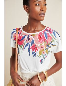 Rosamund Embroidered Top by Anthropologie