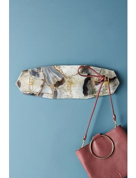 Captured Agate Hook Rack by Anthropologie