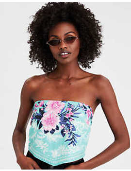 Aeo Tropical Bandana Top by American Eagle Outfitters