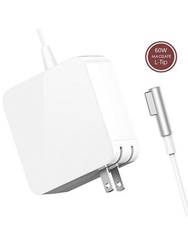 Silicon V Charger, Replacement For Mac Book Pro Charger With 13 Inch Display Before 2012 Ac 60 W Magsafe1 Connector Power Adapter by Silicon V