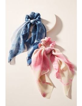 Shibori Hair Scarf Set by Anthropologie