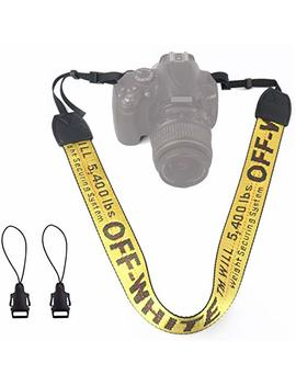 Alins Camera Shoulder Strap Fashion Universal Neck Belt For All Dslr Camera Nikon Canon Sony Pentax Ect by Alins