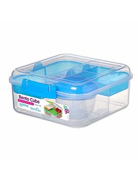 Sistema 21685 Zs To To Go Collection Bento Cube, 42 Oz./1.25 L, Color Received May Vary by Sistema