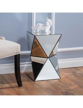 Fairfax Mirrored End Table By Christopher Knight Home by Christopher Knight Home