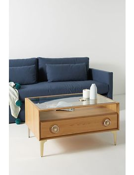 Carraway Oak Coffee Table by Anthropologie