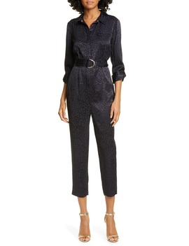 Marryan Animal Print Utility Jumpsuit by Ted Baker London