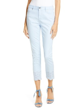 Nellsi Embroidered Hem Jeans by Ted Baker London