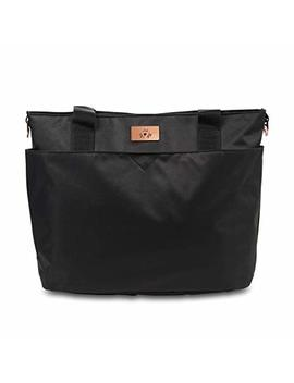 Ju Ju Be Limited Edition Encore Diaper Tote Bag   Black Rose by Ju Ju Be