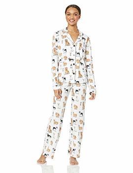Pj Salvage Women's Long Sleeve Cozy Pajama Set by Pj Salvage