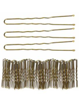 300 Pack Of Bun Hair Pins U Shaped Pins With Box, Golden Hair Pins by Tbestmax