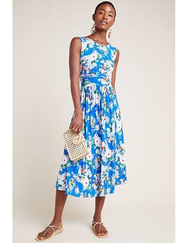 Kyla Floral Midi Dress by Maeve