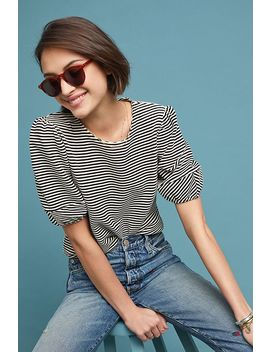 Santos Striped Top by Dolan Left Coast
