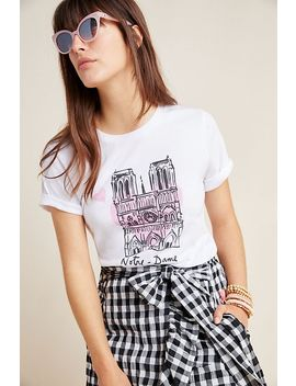 Notre Dame Graphic Tee by Anthropologie