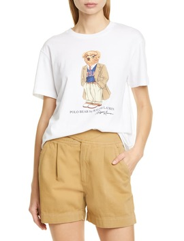 Big Bear Mascot Cotton Tee by Polo Ralph Lauren