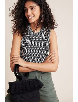 Barbara Jacquard Knit Top by Maeve