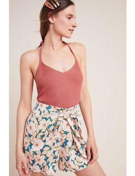 Maya Knit Halter Tank by Anthropologie