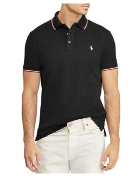 Stretch Mesh Custom Slim Fit Polo Shirt   100 Percents Exclusive by Polo Ralph Lauren