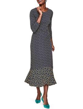 Philippa Jersey Midi Dress by Boden