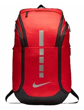 Nike Hoops Elite Pro Backpack University Red/Black/Mtlc Cool Grey by Nike