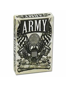 Nomades Official Army Playing Cards Deck Of Cards, Collectors Set, Hand Illustrated Poker Cards, Limited Edition, By Kings Wild by Nomades