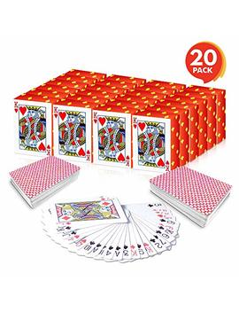 """Gamie Mini Playing Cards (Pack Of 20 Decks) 