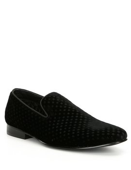 Men's Velvet Lifted Slip On Loafer by Steve Madden