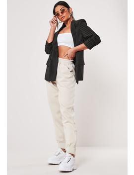Stone Cuffed Joggers by Missguided