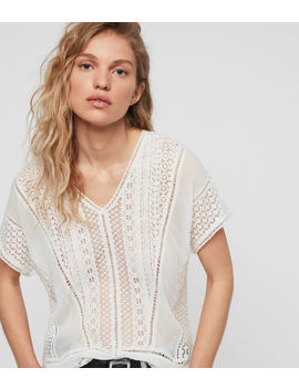 Cindi Lace Top by Allsaints
