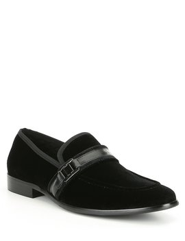 Men's Macklin Velvet Loafer by Steve Madden