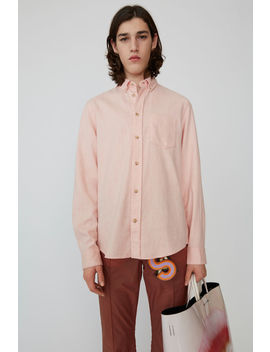Classic Fit Shirt Powder Pink by Acne Studios