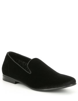 Men's Plush Velvet Cents Loafer by Steve Madden