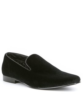 Men's Laight Velvet Slip Ons by Steve Madden