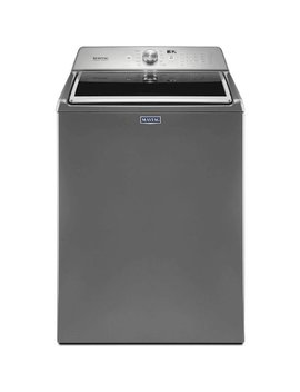4.7 Cu. Ft. 11 Cycle High Efficiency Top Loading Washer   Metallic Slate by Maytag