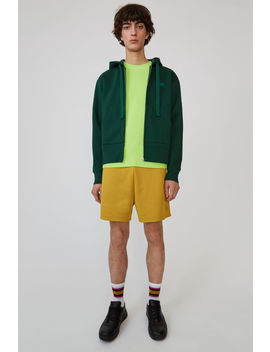 Hooded Sweatshirt Dark Green by Acne Studios