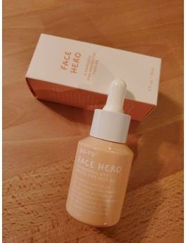 Go To Face Hero Powerful And Protective Face Oil Full Size 1 Fl Oz   Ipsy Glam by Ebay Seller