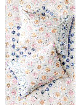 Kimana Rug Print Tassel Sham Set by Urban Outfitters