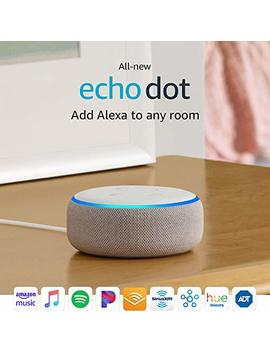 certified-refurbished-all-new-echo-dot-(3rd-gen)---smart-speaker-with-alexa---charcoal by amazon