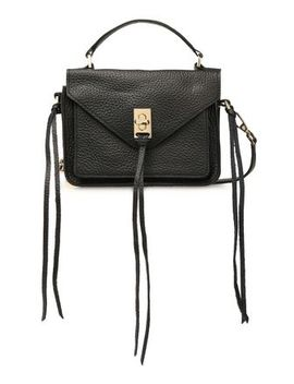 Darren Textured Leather Shoulder Bag by Rebecca Minkoff