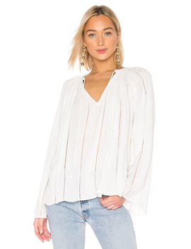 Lattice Peasant Top by Frame