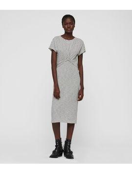 Paloma Stripe Dress by Allsaints