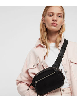 Captain Leather Bumbag Crossbody Bag by Allsaints