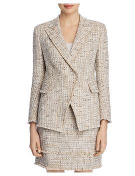 Jezebel Metallic Tweed Blazer by Elie Tahari