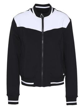 Two Tone Tech Jersey Track Jacket by Purity Active