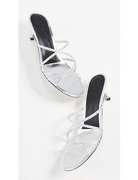 Fyona Kitten Heel Slides by Sigerson Morrison