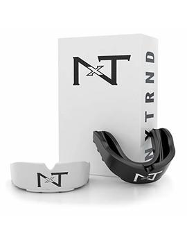 Nxtrnd Rush Sports Mouth Guard – 2 Pack Of Professional Moldable Contact Sports Mouthguards, Case And Pouch Included by Nxt Nxtrnd