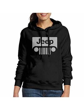 Women's Hoodies Jeep Logo Casual Hooded Drawstring Sweatshirts by Kla2000