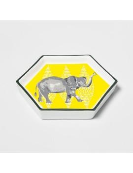 Hexagon Jewelry Storage Tray Elephant   Opalhouse by Opalhouse