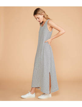 Lou & Grey Striped Tank Maxi Dress by Loft