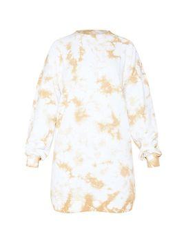 Sand Tie Dye Jumper Dress by Prettylittlething