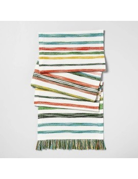 """72""""X14"""" Striped Table Runner    Opalhouse by Opalhouse"""